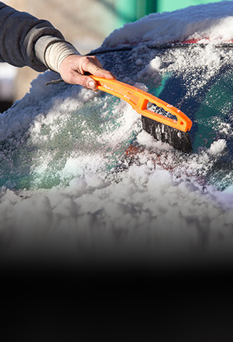 Stenslag i forruden kan knække bilglas ved temperatur forskelle
