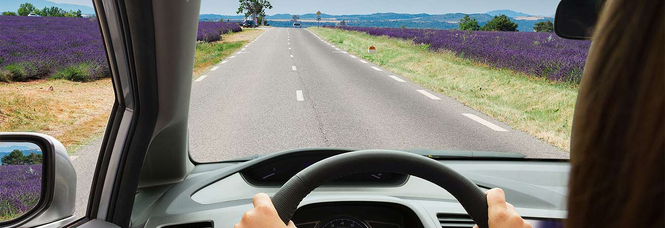 Vi sørger for, at du er sikker, når du kører.