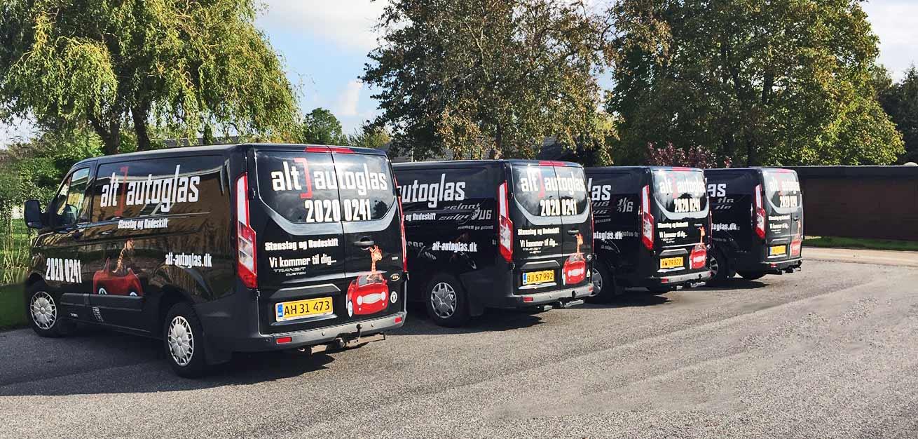 Alt-autogas service varevogne