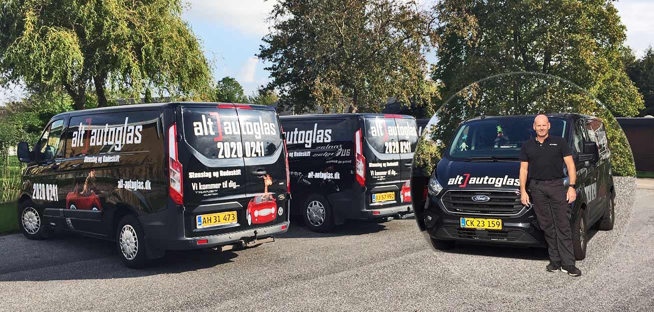 Bilglas reparation aftaler til erhverv og firmaer med bilflåder