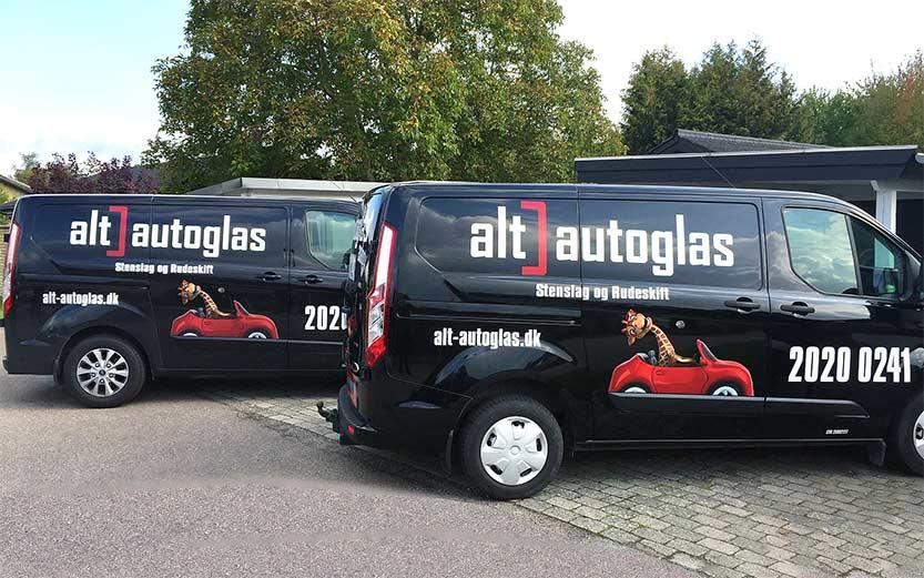Alt-autoglas service biler